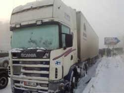 Белорусы помогли украинскому перевозчику в трудную минуту