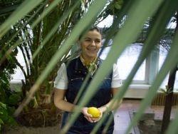 В агроусадьбе под Чашниками собирают экзотические фрукты