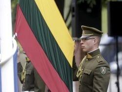 В Литве за невывешивание флага в праздники грозят штрафы