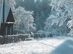"""Как справляется с морозами и снегом владелец """"хоббитского"""" дома"""