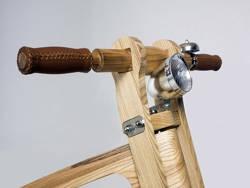 Белорусский велосипед из березы и ясеня