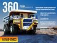 БЕЛАЗ вернулся в Китай на самосвале на 360 тонн