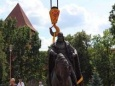 В Лиде установили памятник князю Гедимину