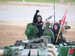 Белорусы заняли второе место на «Танковом биатлоне — 2019»