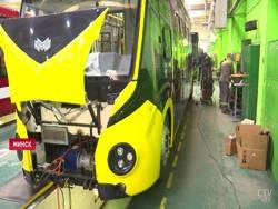 В Минске начали обкатывать мини-электробус