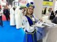 Белорусская молочка на выставке в Дубае