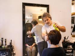 Итальянец открыл в Минске парикмахерскую