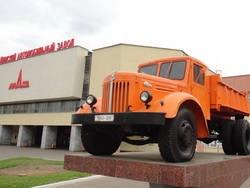 МАЗ показал в Минске свои передовые автомобили