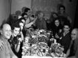 Новогодний стол по советским традициям